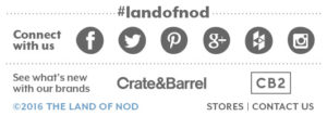land of nod footer